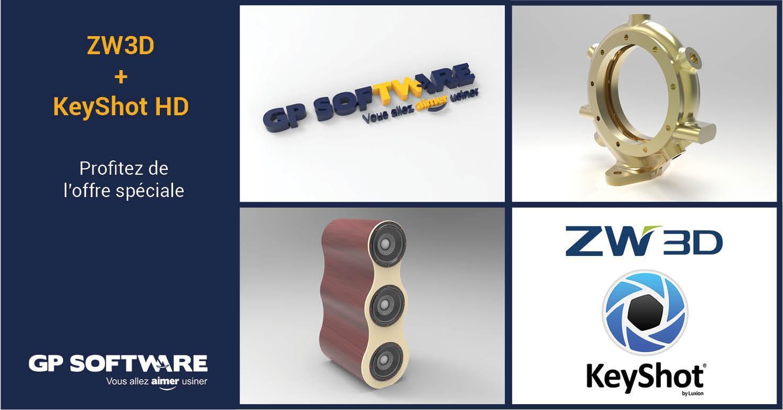 KeyShot pour ZW3D