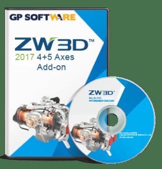 ZW3D version 2017, 45 axes