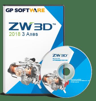 ZW3D 3 axes