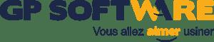 Logo GP Software 2018, vous allez aimer usiner