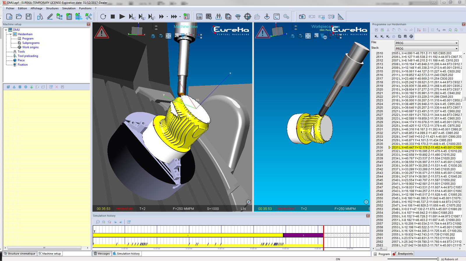 Eureka Capture logiciel Eureka
